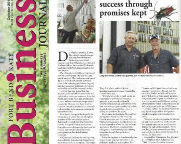 Our Story Integrated Pest Management Inc.