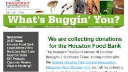 September 2017 Newsletter-Integrated Pest Management, Inc.