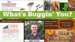 Integrated Pest Management, Inc. Newsletter November 2017