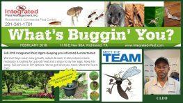 Feb 2018 Integrated Pest Management Newsletter