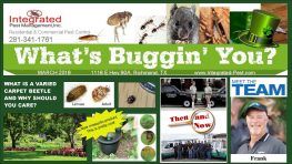 Integrated Pest Management, Inc. March 2018 Newsletter