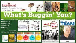 April 2018 Integrated Pest Mgmt, Inc. Newsletter