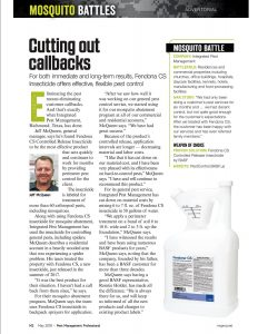 Jeff McQueen, Pest Management Professional Magazine